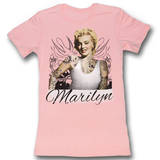 Juniors: Marilyn Monroe - Tats T-Shirt