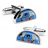 Star Wars R2D2 Dome Cufflinks Novelty