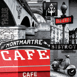 Café Parisien Prints by  Blonde Attitude