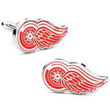 Detroit Red Wings Cufflinks Novelty