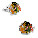 Chicago Blackhawks Cufflinks Novelty