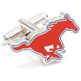 SMU Mustangs Cufflinks Novelty