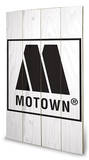 Motown Logo Wood Sign Træskilt