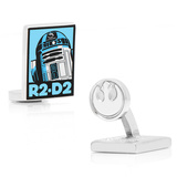 R2D2 Pop Art Poster Cufflinks Novelty