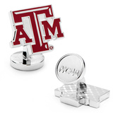 Palladium Texas A & M Aggies Cufflinks Novelty
