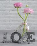 Composition Florale : Love Kunstdrucke von  Chatelain