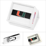 University of Miami Hurricanes Money Clip Novelty