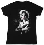 Juniors: Marilyn Monroe - Lace - T-shirt