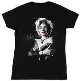 Juniors: Marilyn Monroe - Lace T-Shirt
