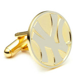 Two Tone New York Yankees Cufflinks Novelty