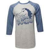 Bill And Ted - Blue Stallion (raglan) Vêtements