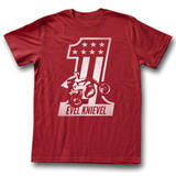 Evel Knievel - Red One Shirts