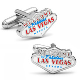 Las Vegas Cufflinks Novelty