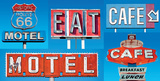 Motel Café Affiches par  Blonde Attitude