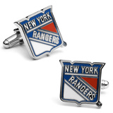 NY Rangers Cufflinks Novelty