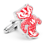 Vintage University of Wisconsin Badgers Cufflinks Novelty