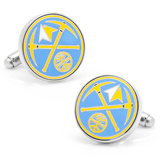 Denver Nuggets Cufflinks Novelty