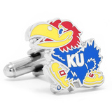 Kansas University Jayhawks Cufflinks Novelty