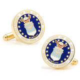 US Air Force Cufflinks Novelty