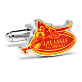 Vintage Arkansas Razorback Cufflinks Novelty