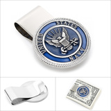 Pewter U.S. Navy Money Clip Novelty