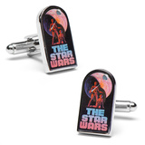 "Classic ""The Star Wars"" Episode 4 Movie Poster Cufflinks Novelty"