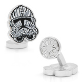 Clone Trooper Typography Cufflinks Novelty