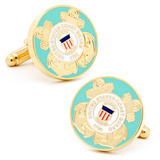 US Coast Guard Cufflinks Novelty