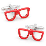 Cool Cut Red Shades Cufflinks Novelty