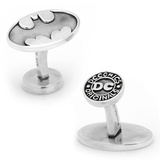 Sterling Batman Cufflinks Novelty