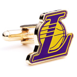 LA Lakers Cufflinks Novelty