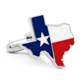 Texas Flag Cufflinks Novelty