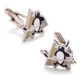 Pittsburgh Penguins Cufflinks Novelty