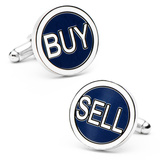 Buy Sell Cufflinks Novelty