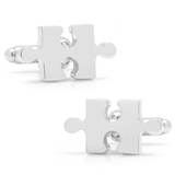 Puzzle Piece Cufflinks Novelty