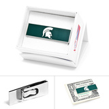 Michigan State Spartans Money Clip Novelty