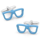 Cool Cut Blue Shades Cufflinks Novelty