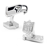 Palladium Seattle Seahawks Cufflinks Novelty