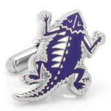 Vintage TCU Horned Frog CUfflinks Novelty