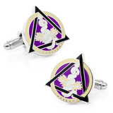 Dental Caduceus Cufflinks Novelty