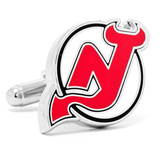 NJ Devils Cufflinks Novelty