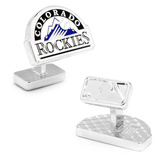 Palladium Colorado Rockies Cufflinks Novelty