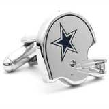 Retro Dallas Cowboys Helmet Cufflinks Novelty
