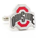Ohio State University Buckeyes Cufflinks Novelty