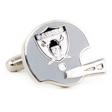 Retro Oakland Raiders Helmet Cufflinks Novelty