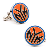 New York Knicks NYK Logo Cufflinks Novelty