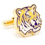 LSU Tigers Cufflinks Novelty