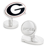 Palladium University of Georgia Bulldogs Cufflinks Novelty