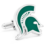 Michigan State Spartans Cufflinks Novelty