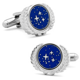 Star Trek UFP Cufflinks Novelty